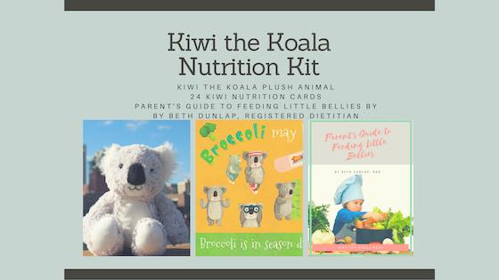 Kiwi the Koala Nutrition Kit for Kids