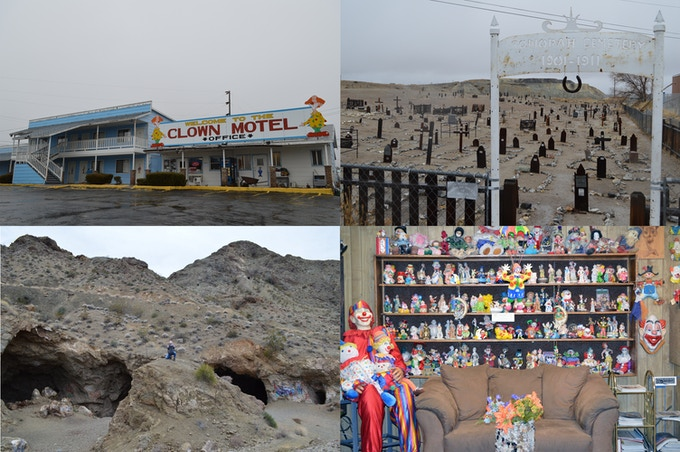 Clown Motel Filming Locations. Click on pic to see more. 2018