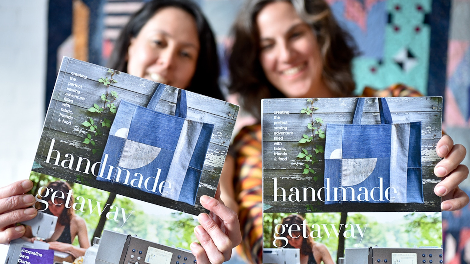 A project-based book that guides you through planning and creating a perfect sewing adventure filled with fabric, friends and food. Shipping to stores now.