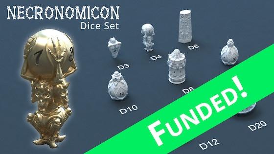 Track Necronomicon Dice's Kickstarter campaign on BackerTracker
