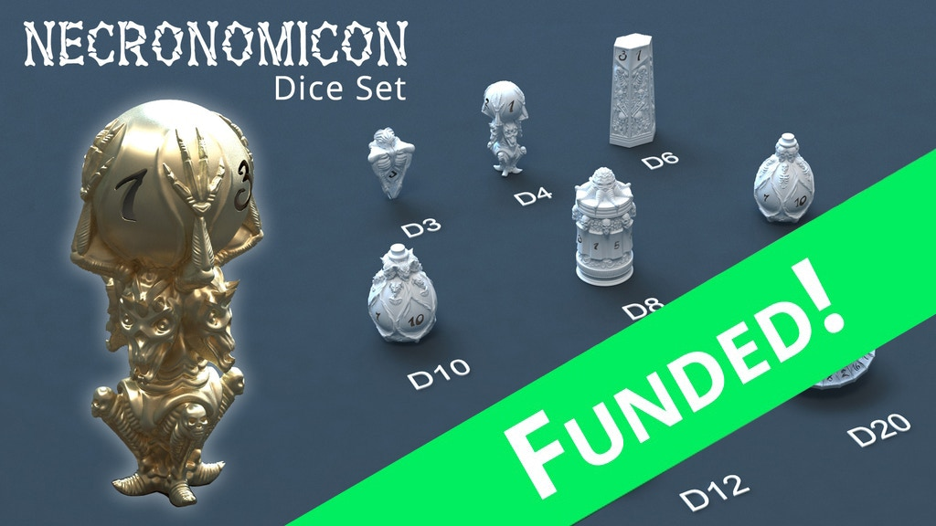 Necronomicon Dice project video thumbnail