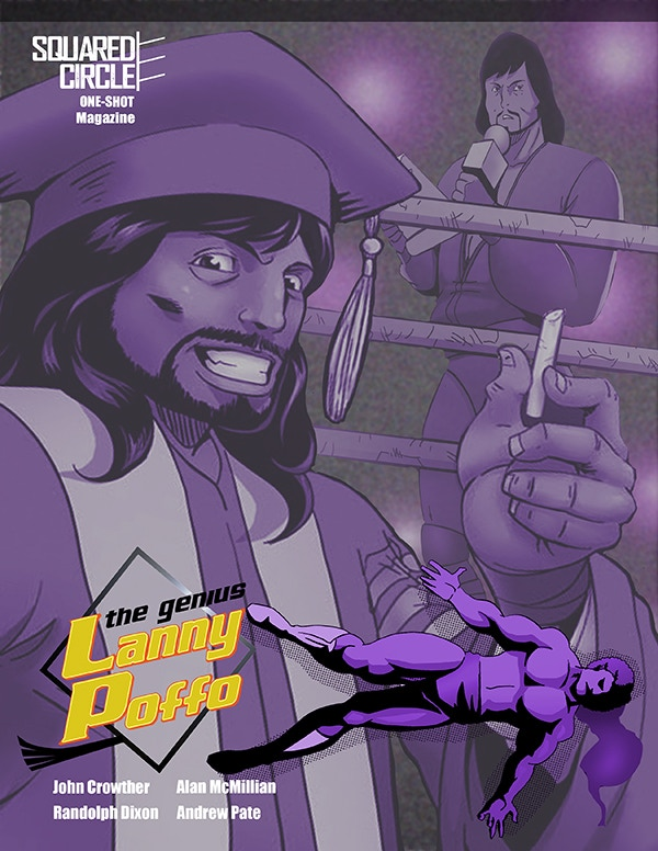 The Magazine-Sized Edition of The Genius Lanny Poffo! VERY Limited in Number and AUTOGRAPHED!