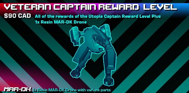 Veteran Captain Reward Level Graphic.