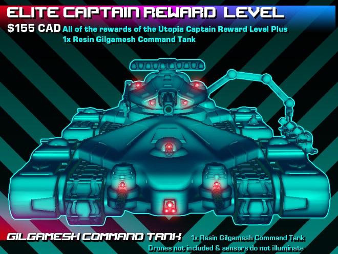 Elite Captain Reward Level Graphic.
