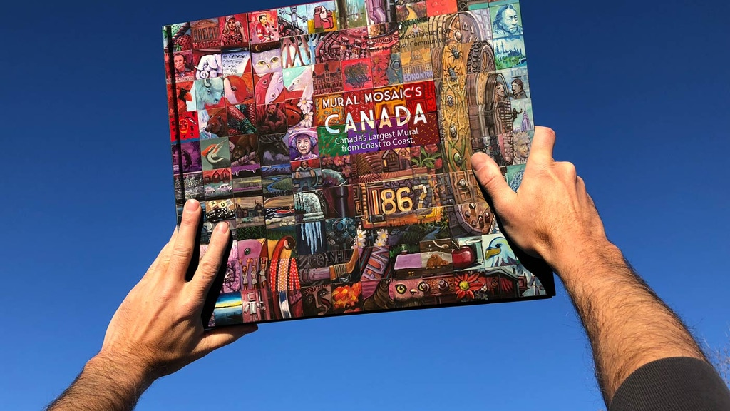 Canada 150 National Mural Mosaic Book project video thumbnail