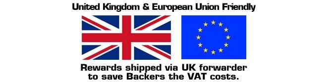 UK and EU Friendly.