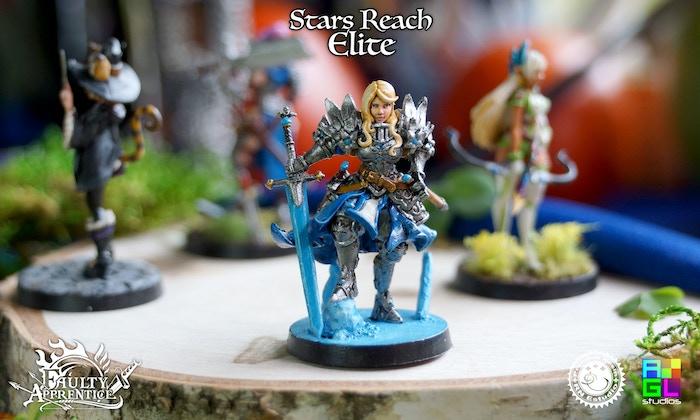 Royal Commander Assembled + Painted + Base Design