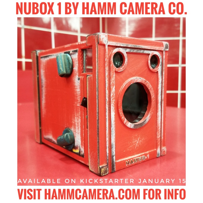 NuBox 1 Weathered Series. Really Red shown. Worn Blue and Something Yellow also available.