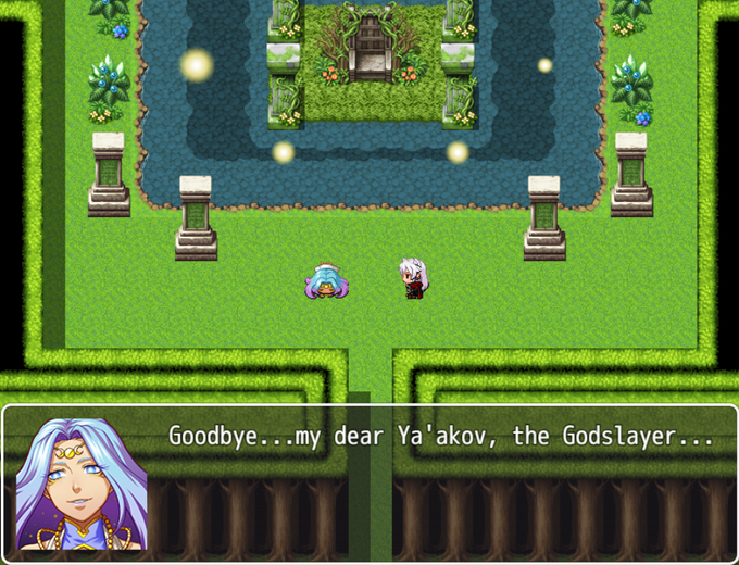 Mistral: Goodbye...my dear Ya'akov, the Godslayer...