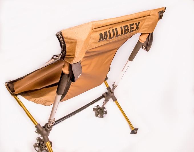 MUHL™ Chair - Coyote Tan CORDURA ripstop