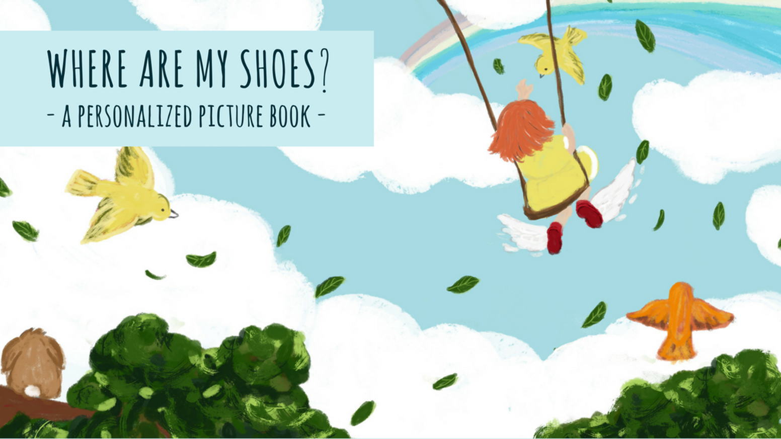 Where Are My Shoes A Personalized Childrens Picture Book By Red