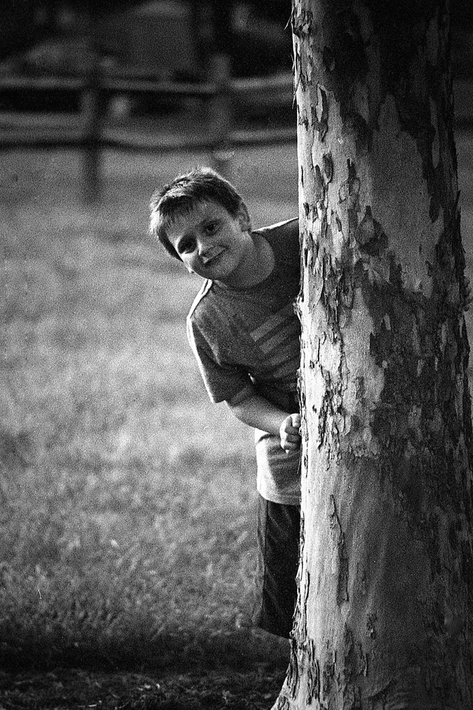 Nu-Box 1 Pre-production image. Very shallow depth of field: f/5.6 1/200 sec Acros 100