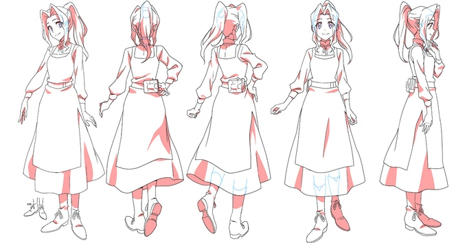 Jamie - Character Designed by Christie Tseng