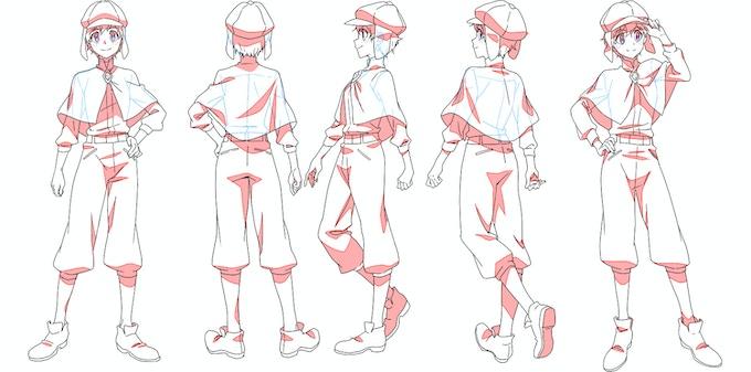 Skylar Holmes - Character Designed by Christie Tseng
