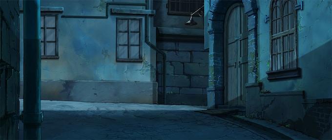 Gamla Stan St. - BG Painted by Miyeon Kim