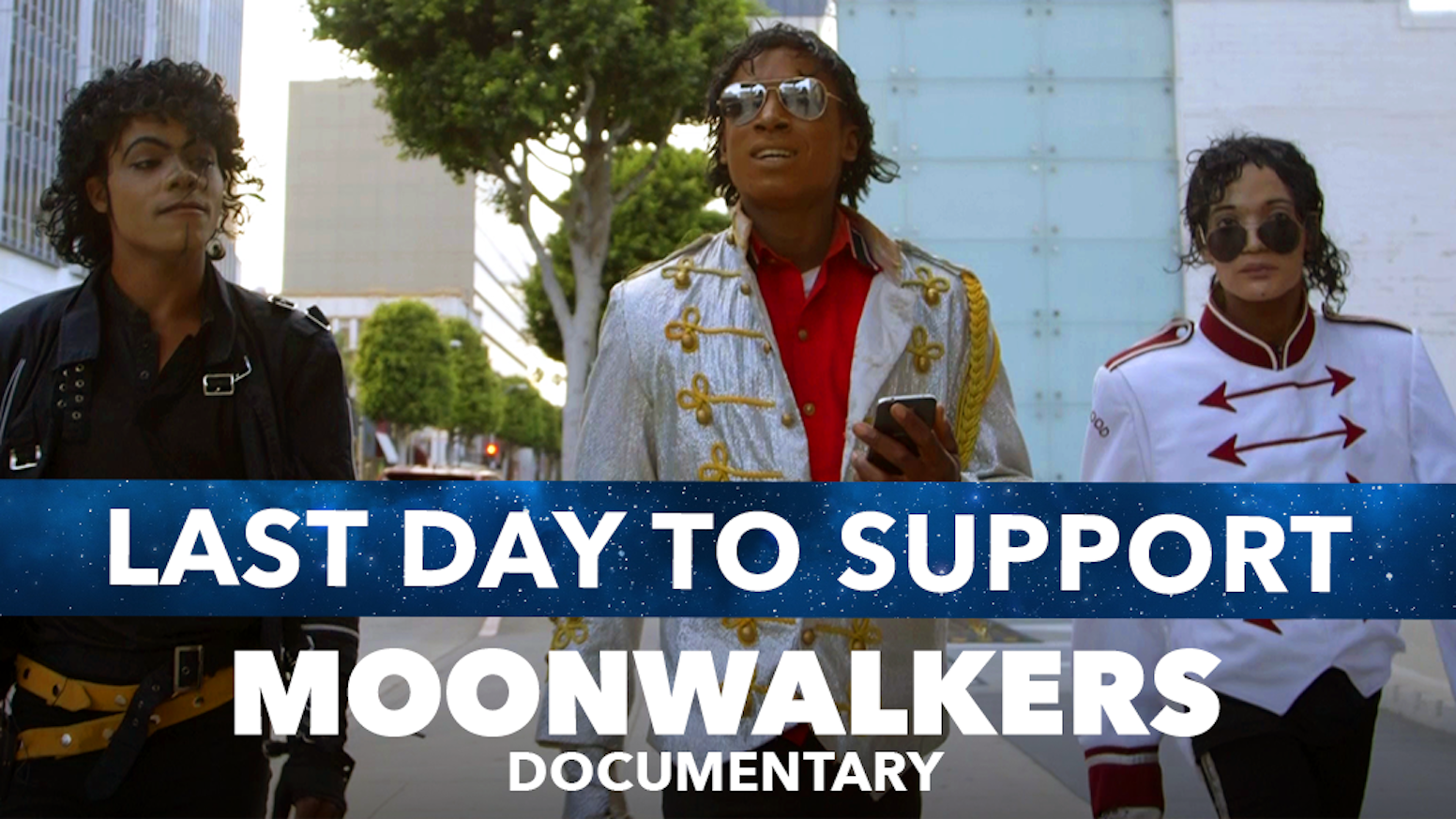 A film following the lives of three Michael Jackson tribute artists as they search for fame and fortune in Hollywood