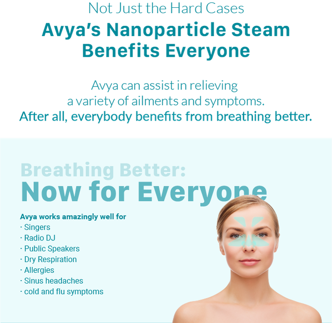 Avya - The Battery-Powered Steam Inhaler by Aura Medical by Aura