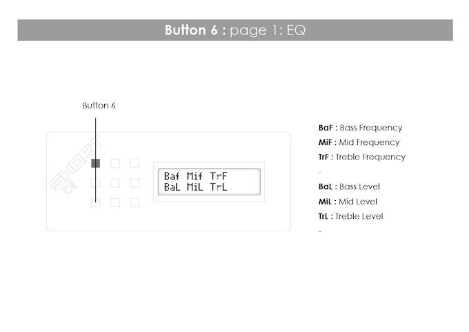Button 6: page 1: EQ