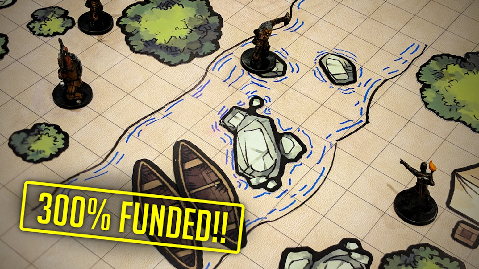 Beautifully hand-drawn, plastic tokens to creatively add depth and immersion to any RPG battlemap