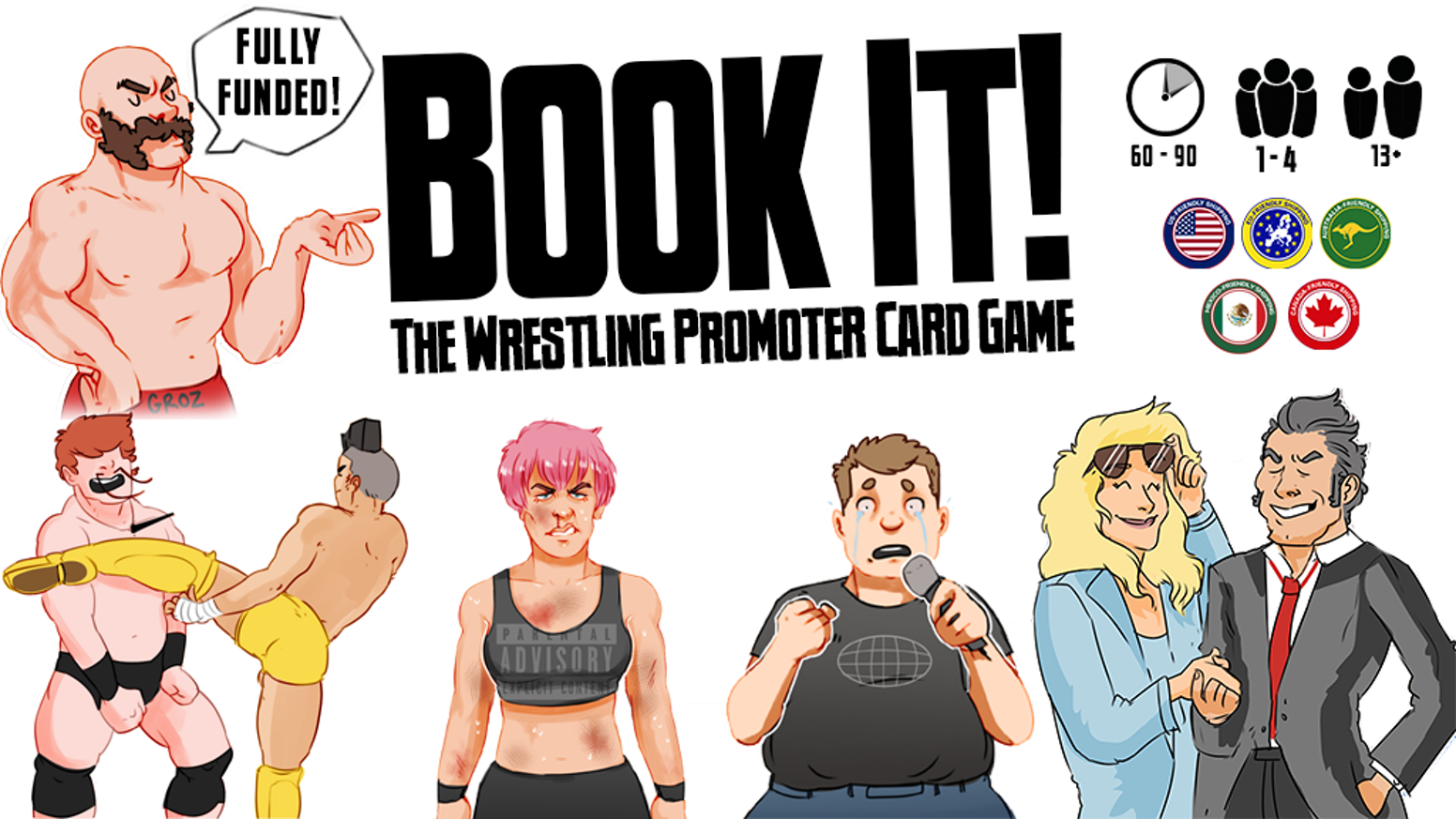 c5446993 Compete with your friends to become the best independent wrestling  promotion in the world!