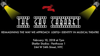 No Man's Land Theatre Co. Presents: The Gay Cabaret