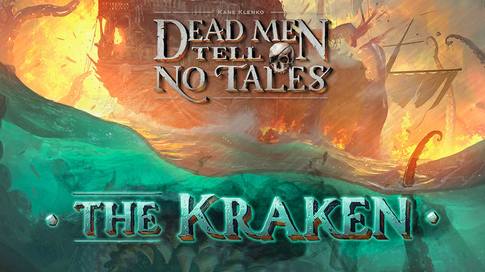 The Kraken game expansion and miniatures addon for Dead Men Tell No Tales cooperative board game.*** WATCH FOR LATE BACKER LINK IN MARCH! ***