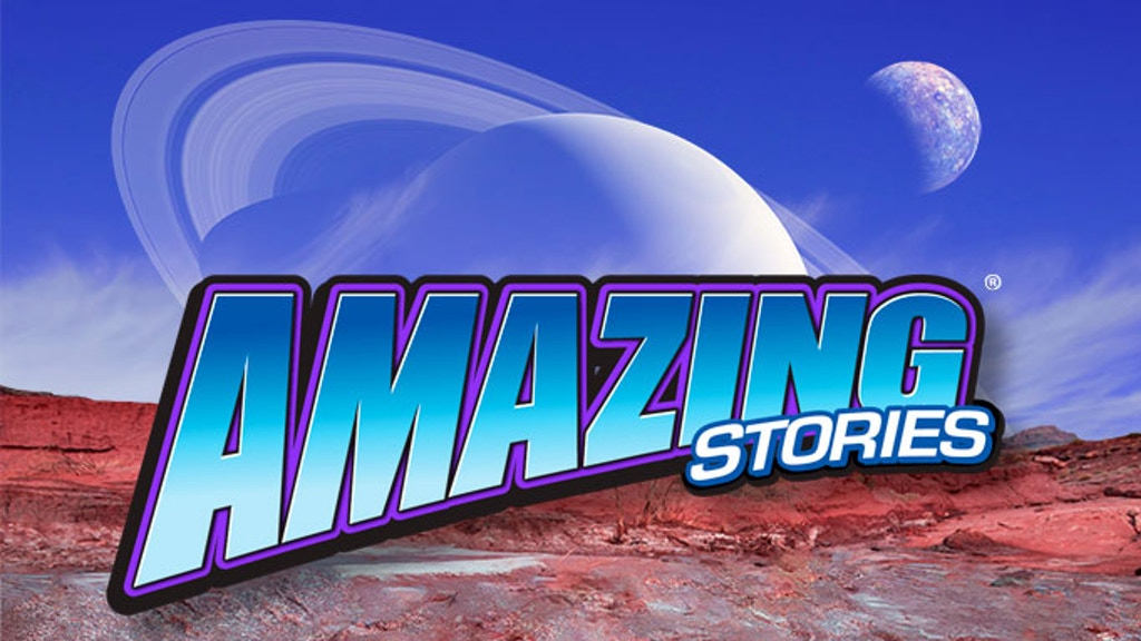The Return of Amazing Stories as a Print Magazine! project video thumbnail