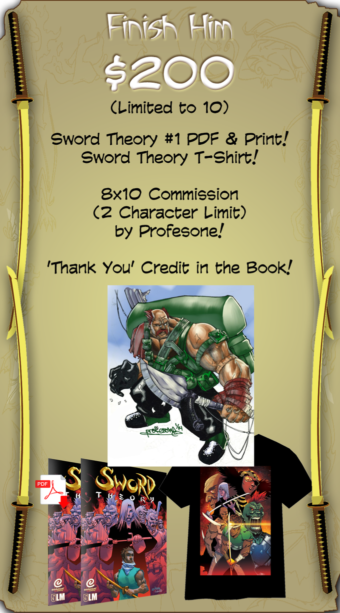 Sword Theory 1 By 500 Lines Media Kickstarter Electrical Wiring Crossover Print Reward