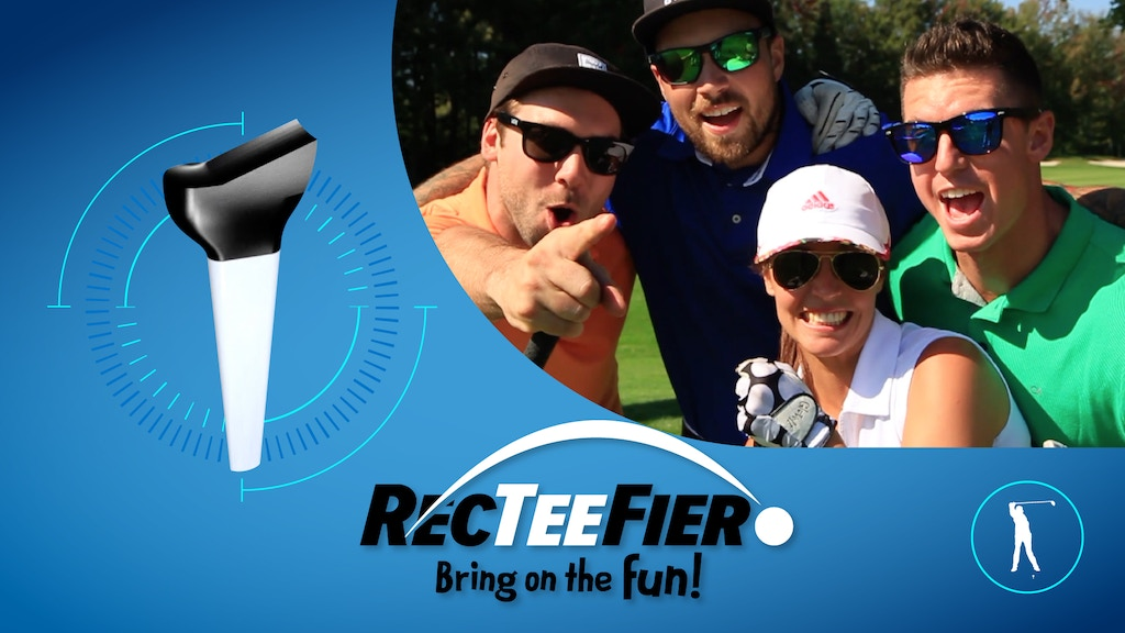 Golf Tee - RecTeeFier - Bring On The Fun project video thumbnail
