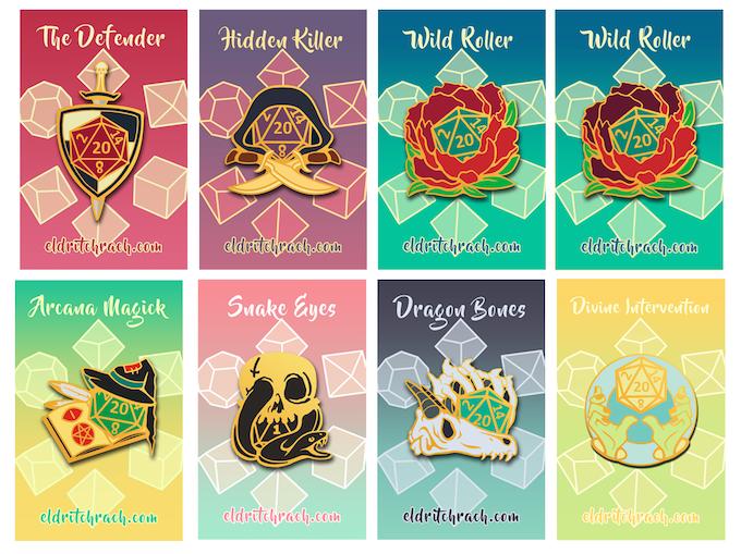 Pins from the Previous Kickstarter