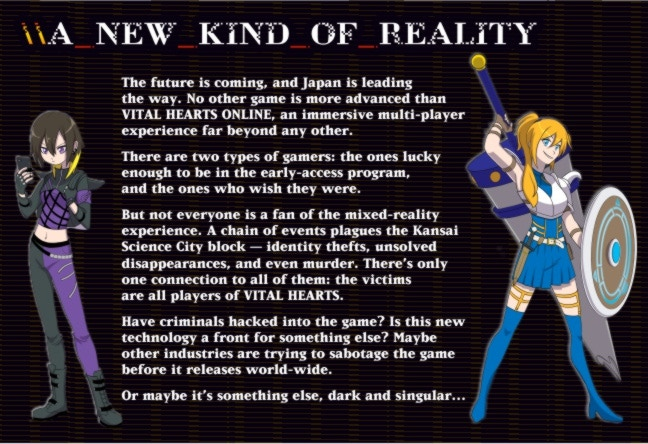 VITAL HEARTS: Tabletop Role-Play of Isekai+Reality by