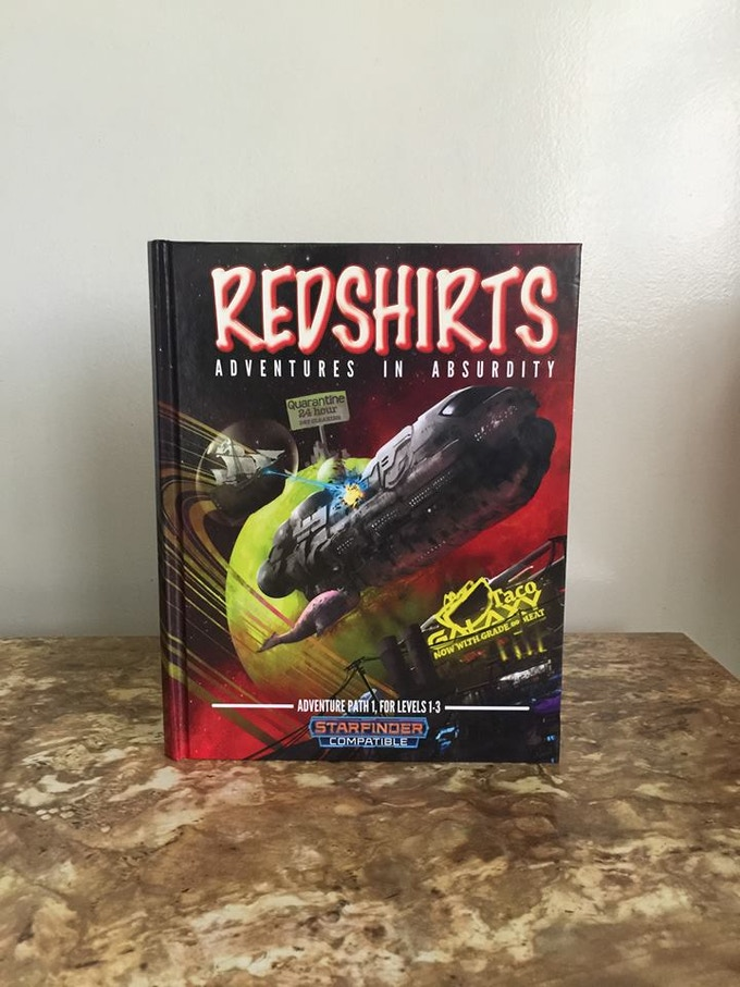 Hardcover Proof of Volume 1, ready to ship out