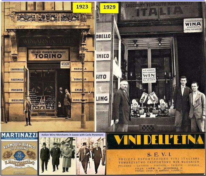 """""""Winiarnia Italia"""" wine & pasta tavern was also the regional office of Italy's Honorary Vice Consul"""