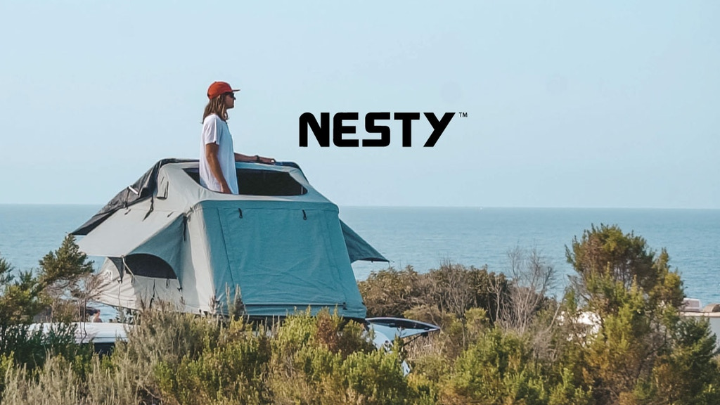 Nesty Roof Tent: Ultra Low Profile, Ruggedized Roof Tent project video thumbnail