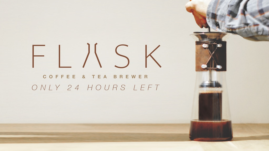FLASK | No Mess. Just Press. Better Coffee and Tea for All. project video thumbnail