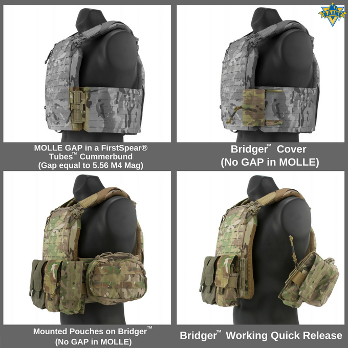 Bridger™ (MOLLE Cover for Tubes™ Cummerbunds)