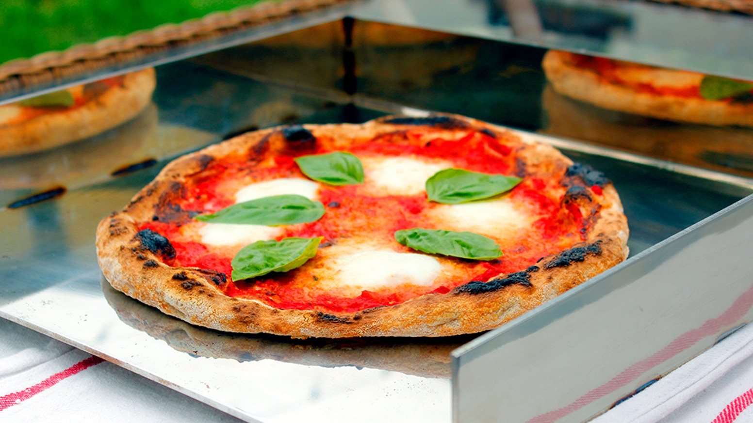 Make authentic Neapolitan pizza in just 90 seconds, in your own oven.