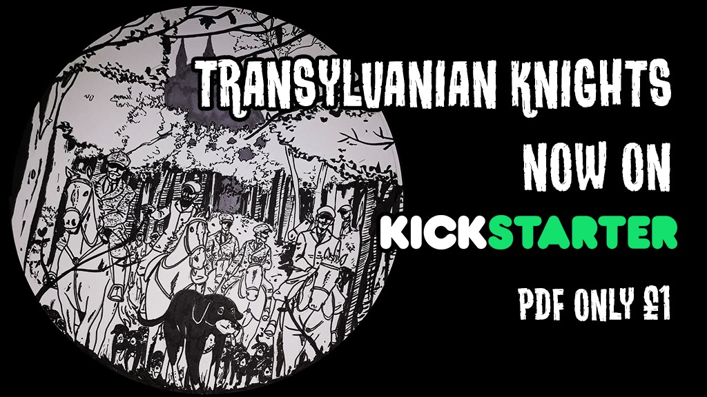 Transylvanian Knights issue 1 project video thumbnail