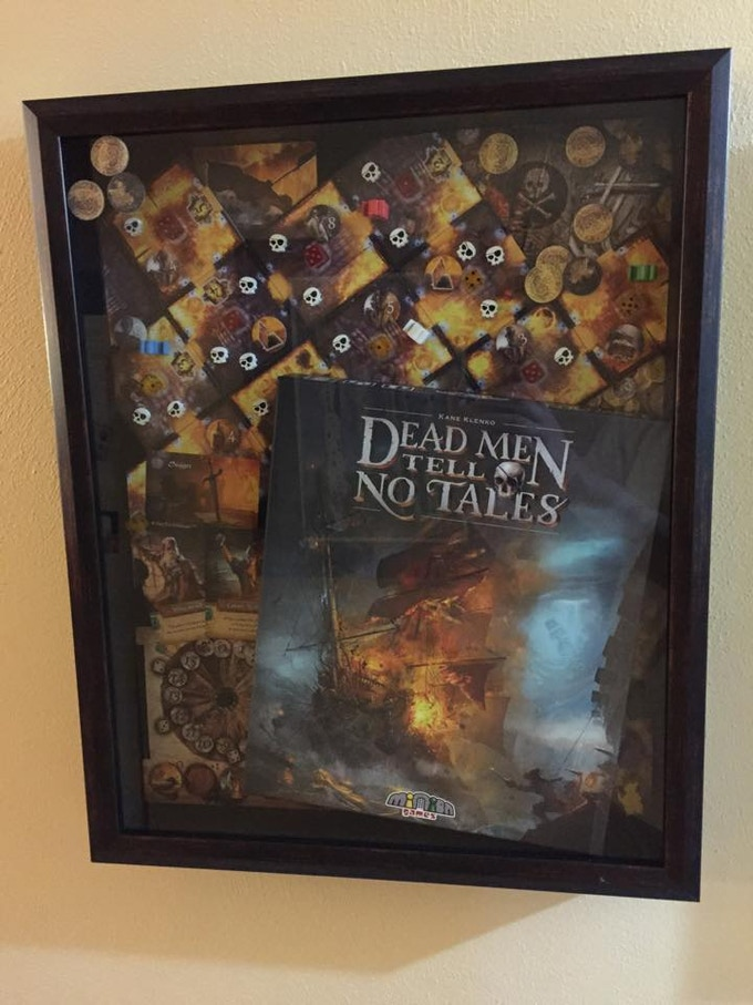 Shadowbox of the original DMTNT in Kane's house.