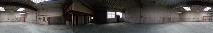 Our New Building! (panorama photo)