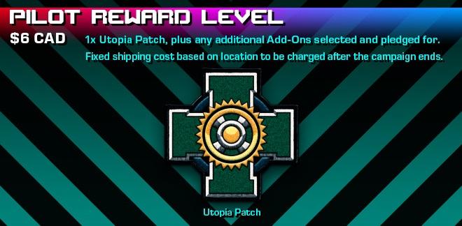 Pilot Reward Level Graphic.