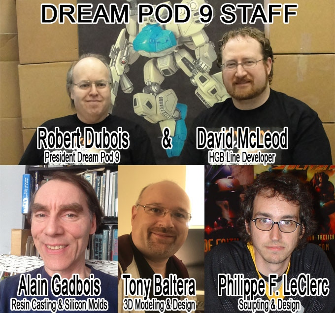 Dream Pod 9 Staff Photos.