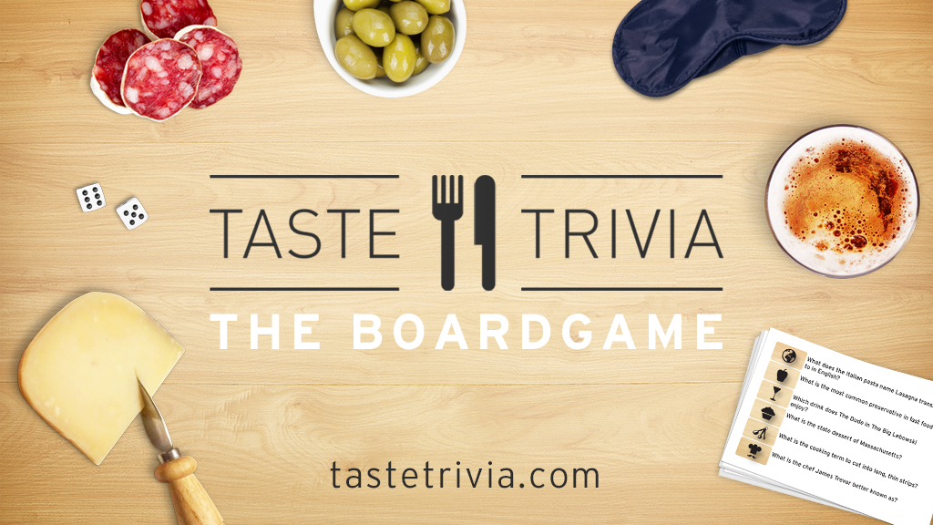 TASTE TRIVA - The Culinary Board Game