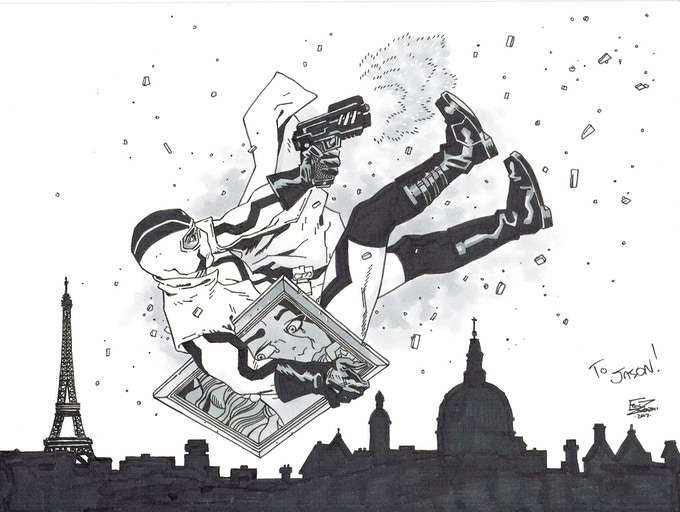 Eric's Fantomex commission that still makes me salivate