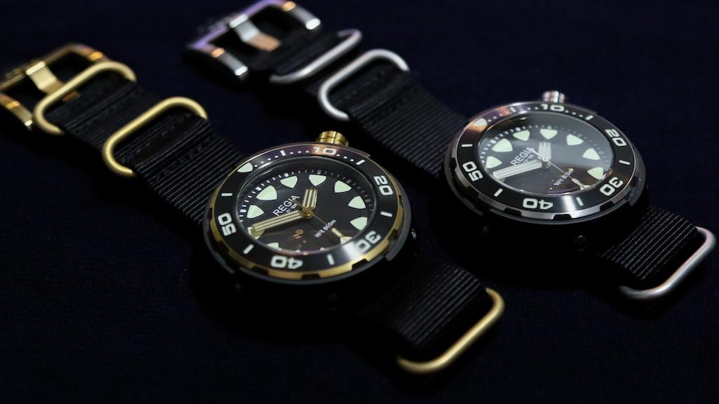 Regia Timepieces Diver
