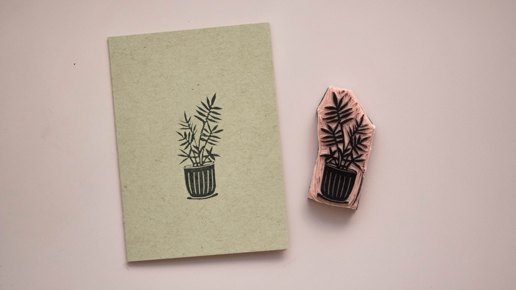 Make 100 - Hand Carved Plant Portraits
