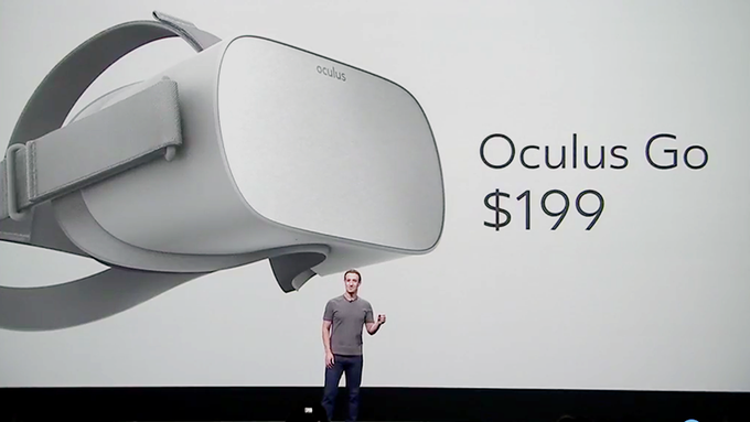 Oculus GO, the first low cost all-in-one VR headset; Releasing in early 2018