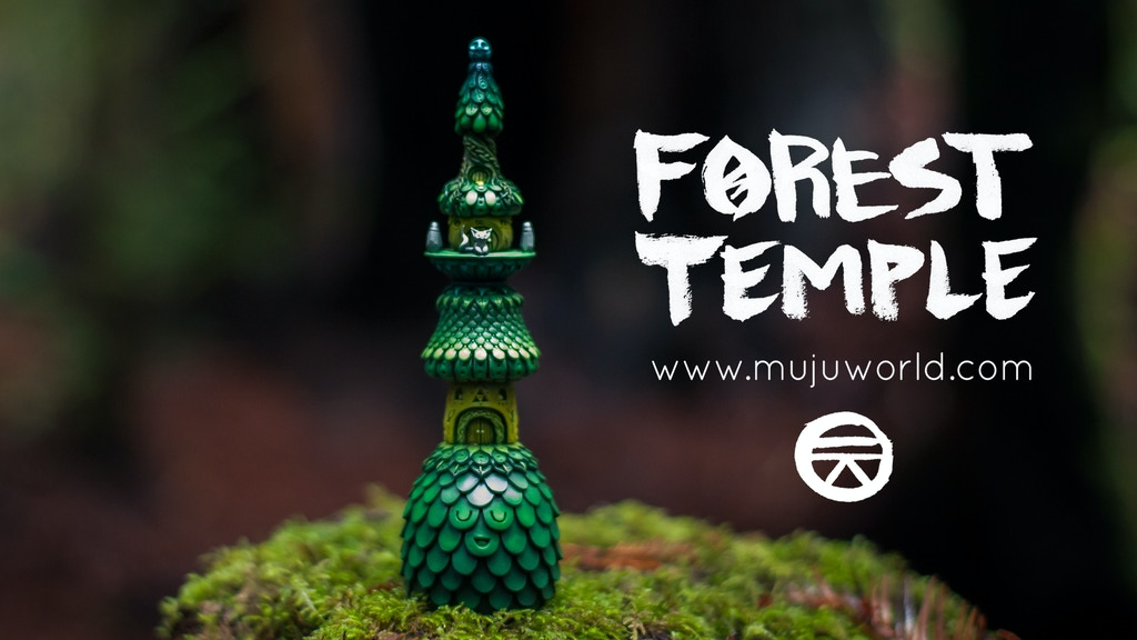 Muju World Forest Temple Sculpture project video thumbnail