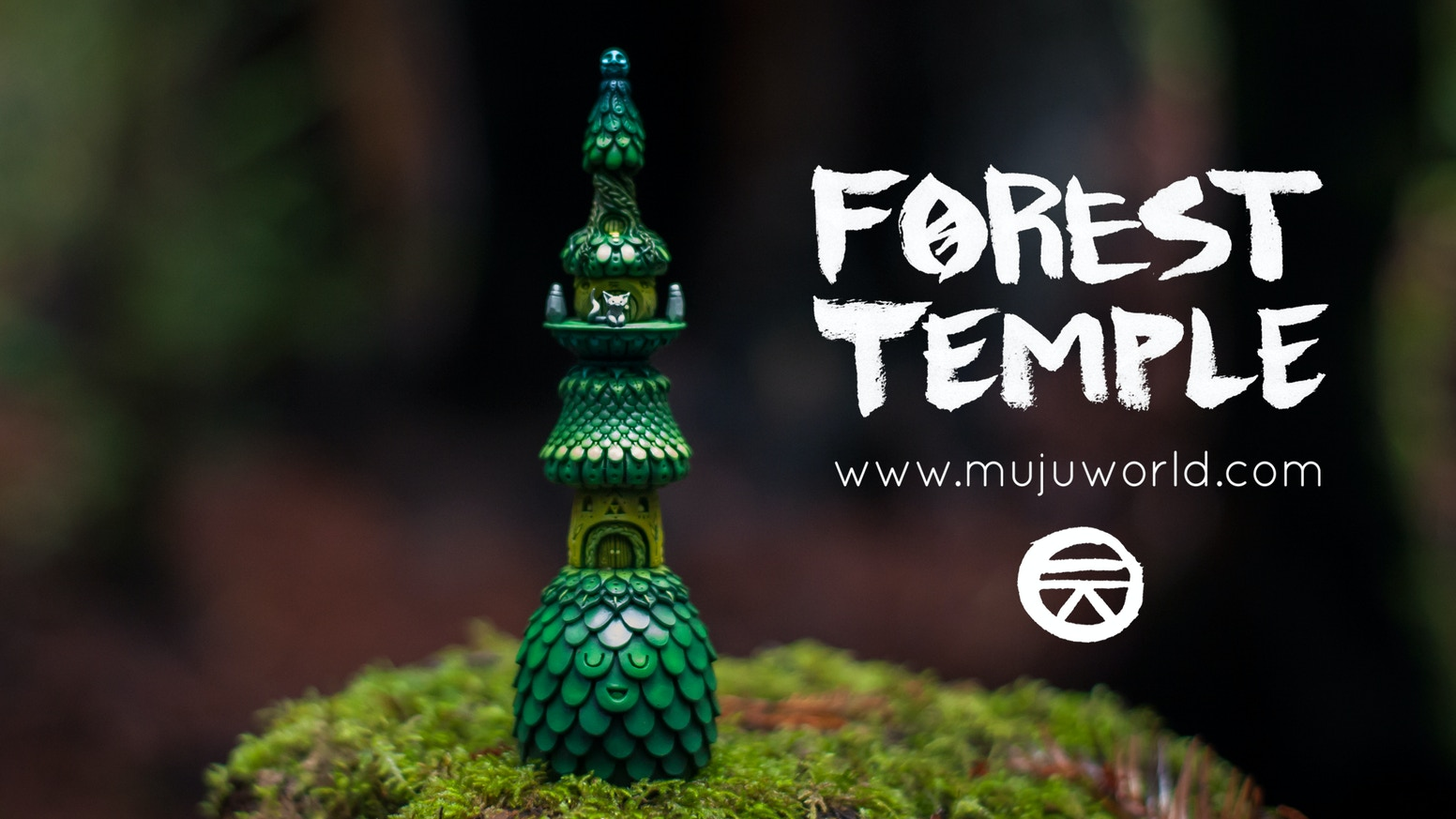 Help launch a new handmade sculpture series by Muju World - The Forest Temple and the Spirit Houses