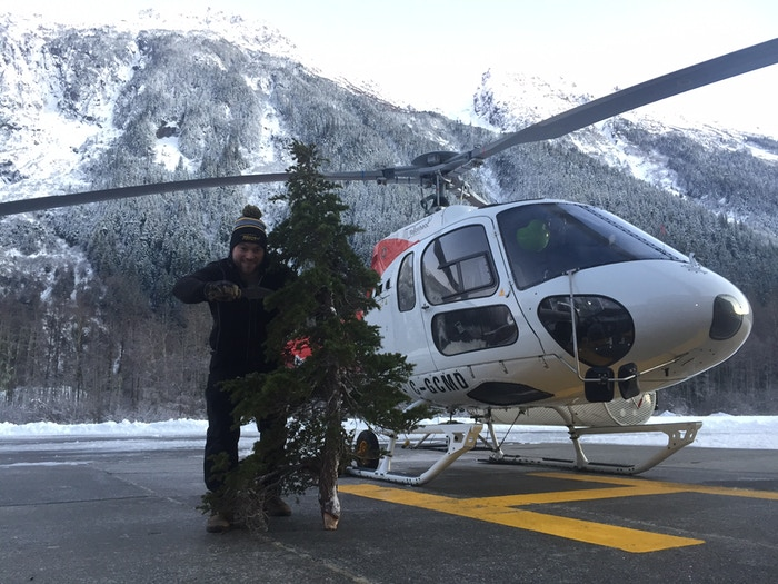 No Walmart? Caleb used his MSK-1 to harvest his Christmas tree. Well Done!!!